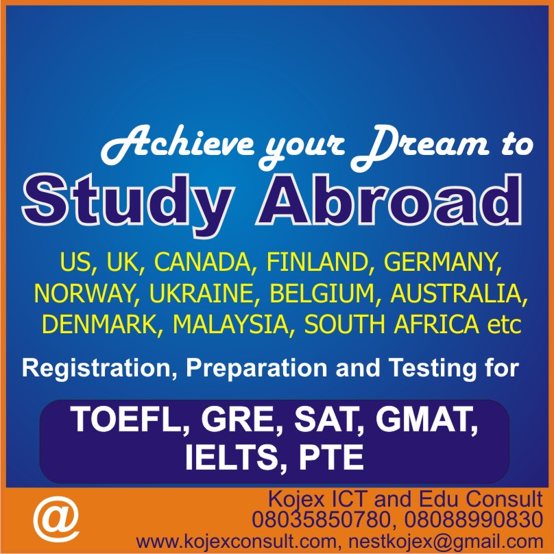 IELTS, TOEFL, GRE, SAT and PTE WORKSHOP TRAINING